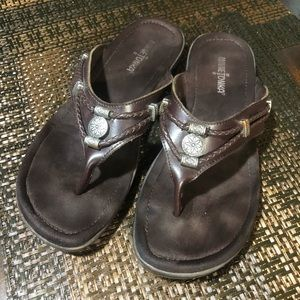 Minne Tonka Brown 9 Sandals